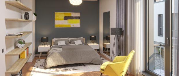 dormitor-vila-Northville-Baneasa